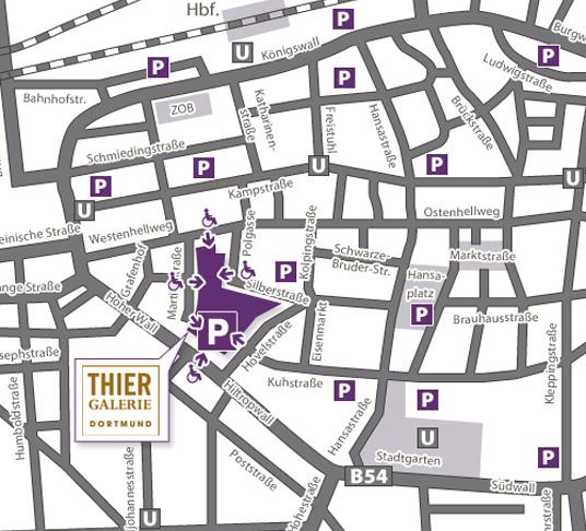 Parken Home Thier Galerie Dortmund